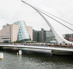 Bridge in Dublin docklands